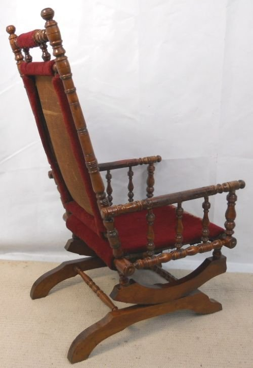 rocking chair styles antique upholstered rocking chair styles