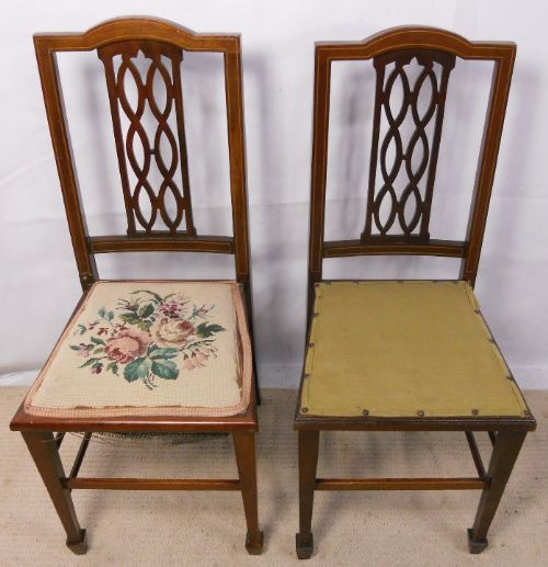 edwardian mahogany bedroom furniture. pair edwardian inlaid mahogany bedroom chairs furniture