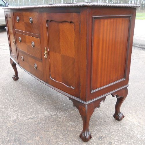 Queen anne style mahogany sideboard base 208249 for Sideboard queens