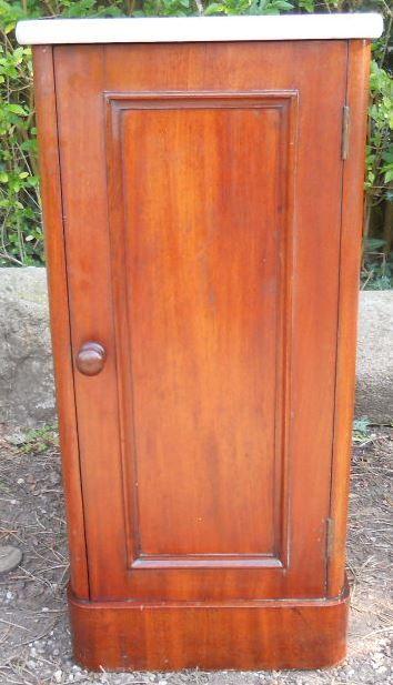 edwards roberts mahogany bedside cabinet
