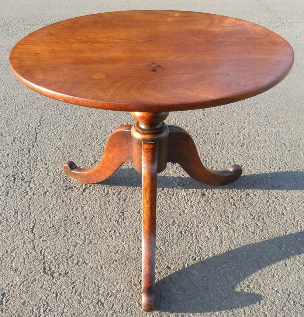 Victorian Round Mahogany Pedestal Coffee Table 369967