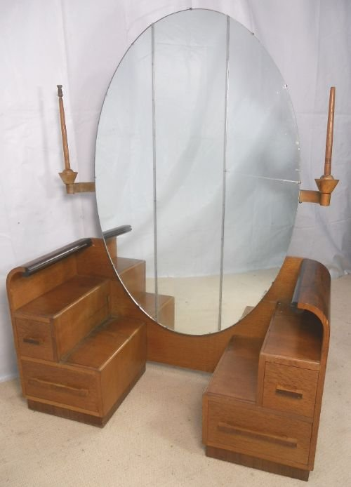 Deco walnut dressing table by gomme 149202 - Deco dressing ...