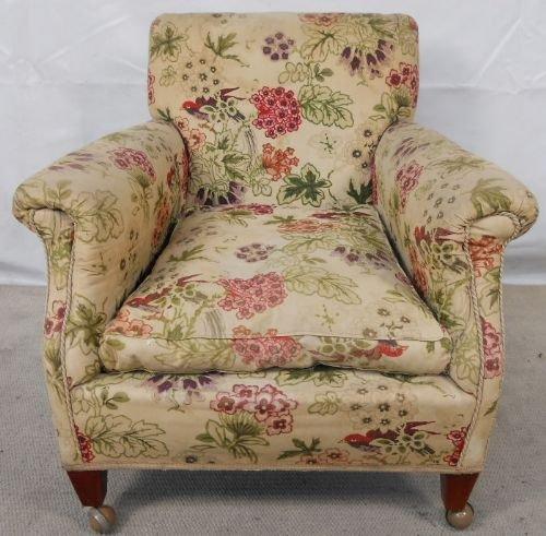 Edwardian Small Easy Fireside Armchair 124324