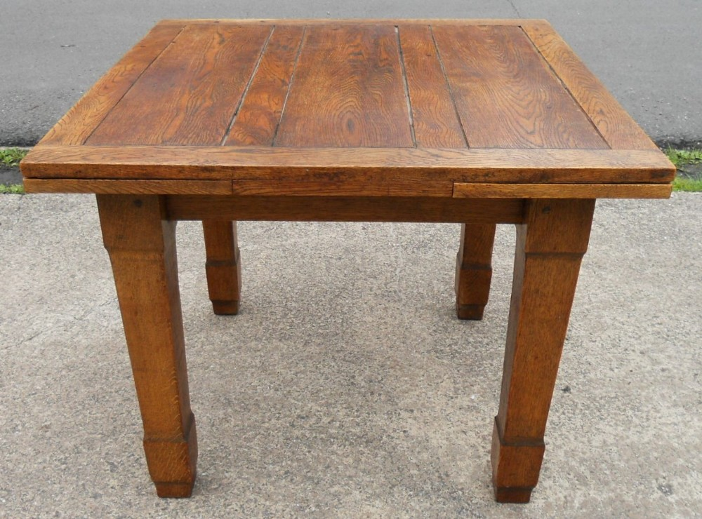 Oak Extending Dining Table To Seat Six 239036