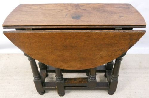 Small Oak Gateleg Coffee Table 166347