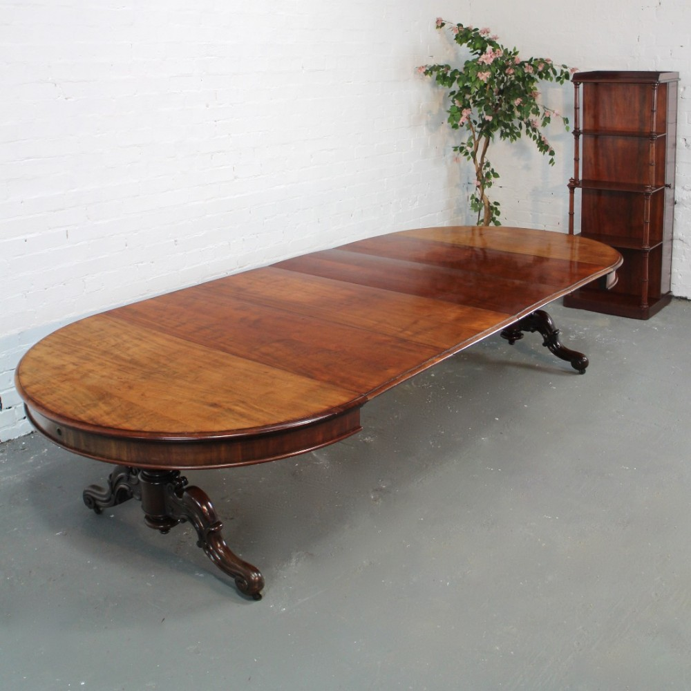 victorian circular mahogany extending dining table leaf. Black Bedroom Furniture Sets. Home Design Ideas