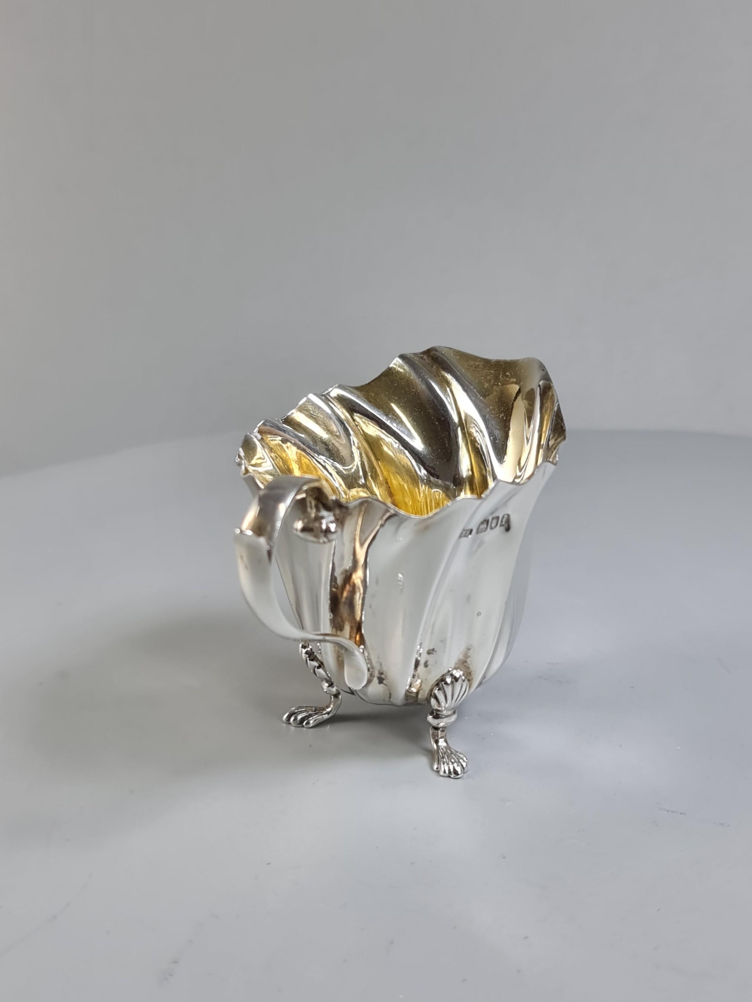 beautiful hm silver naturalistic jug c1901 levesley brothers thomas levesley