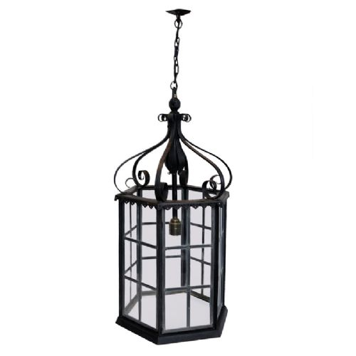 english arts crafts movement hanging lantern circa 1890