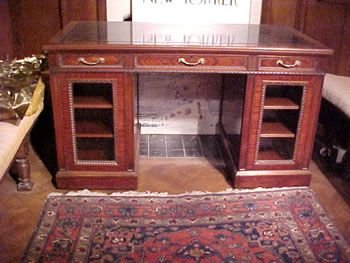a superb quality writing desk formerly owned by stephen tennant