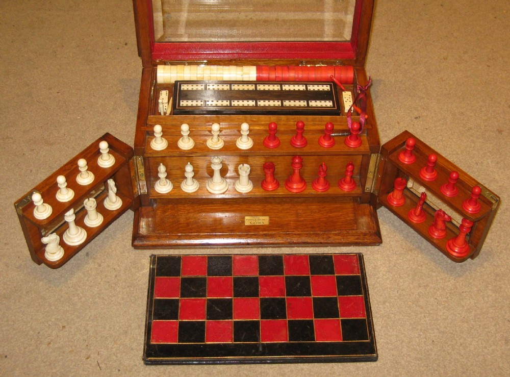 a superb circa 1900 games compendium