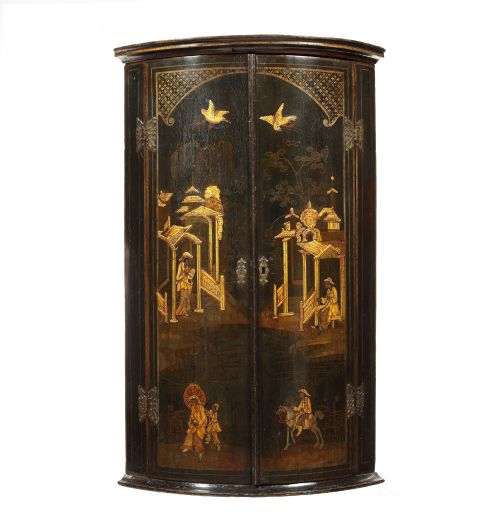 The Pedestal · ROSEWOOD MARQUETRY INLAID CORNER CUPBOARD - Antique Corner Cupboards - The UK's Largest Antiques Website