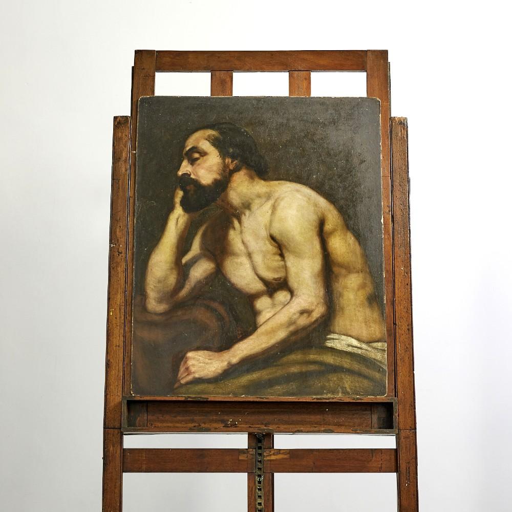 edwardian oil painting