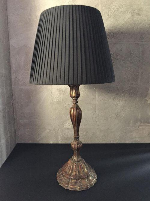 italian candlestick lamp