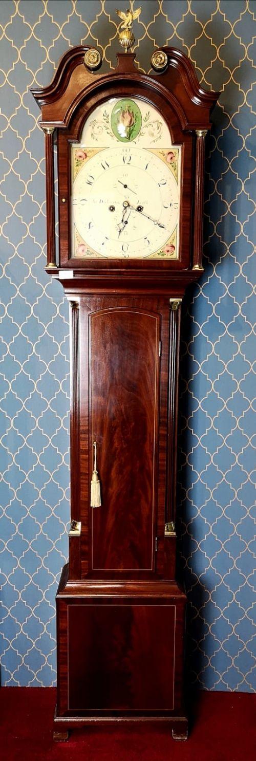 john dickman 8 day longcase clock