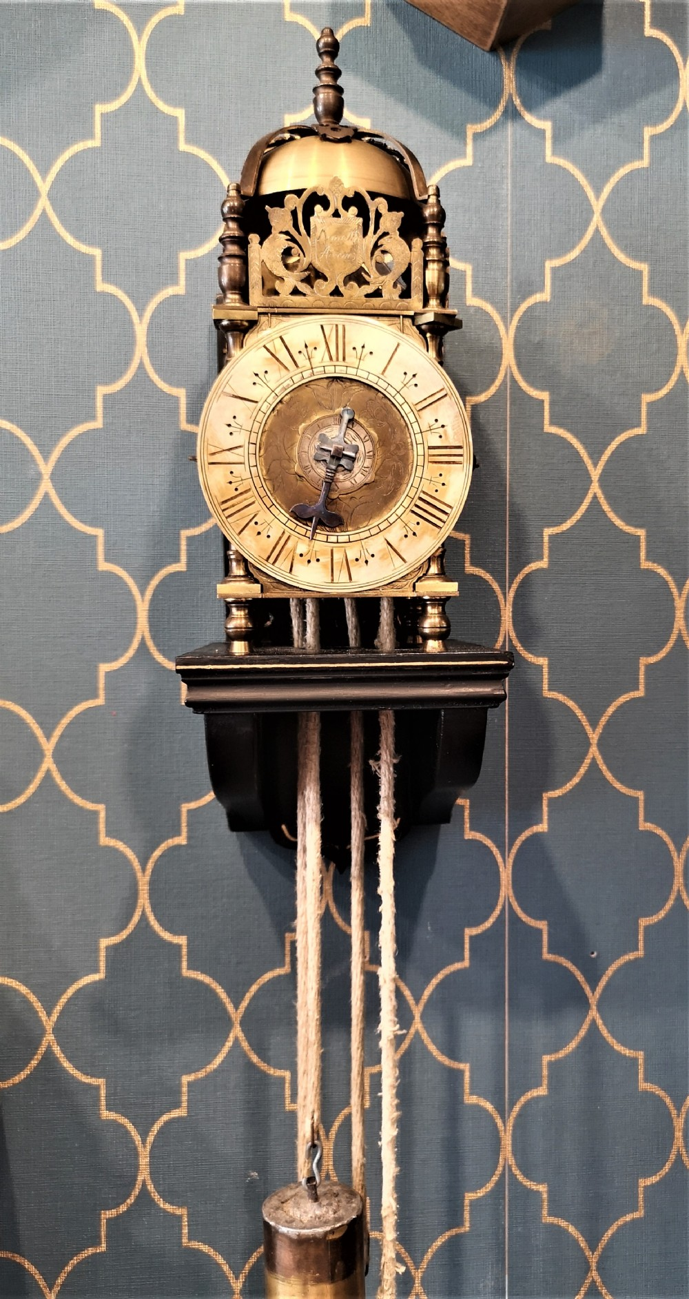 miniature verge lantern clock