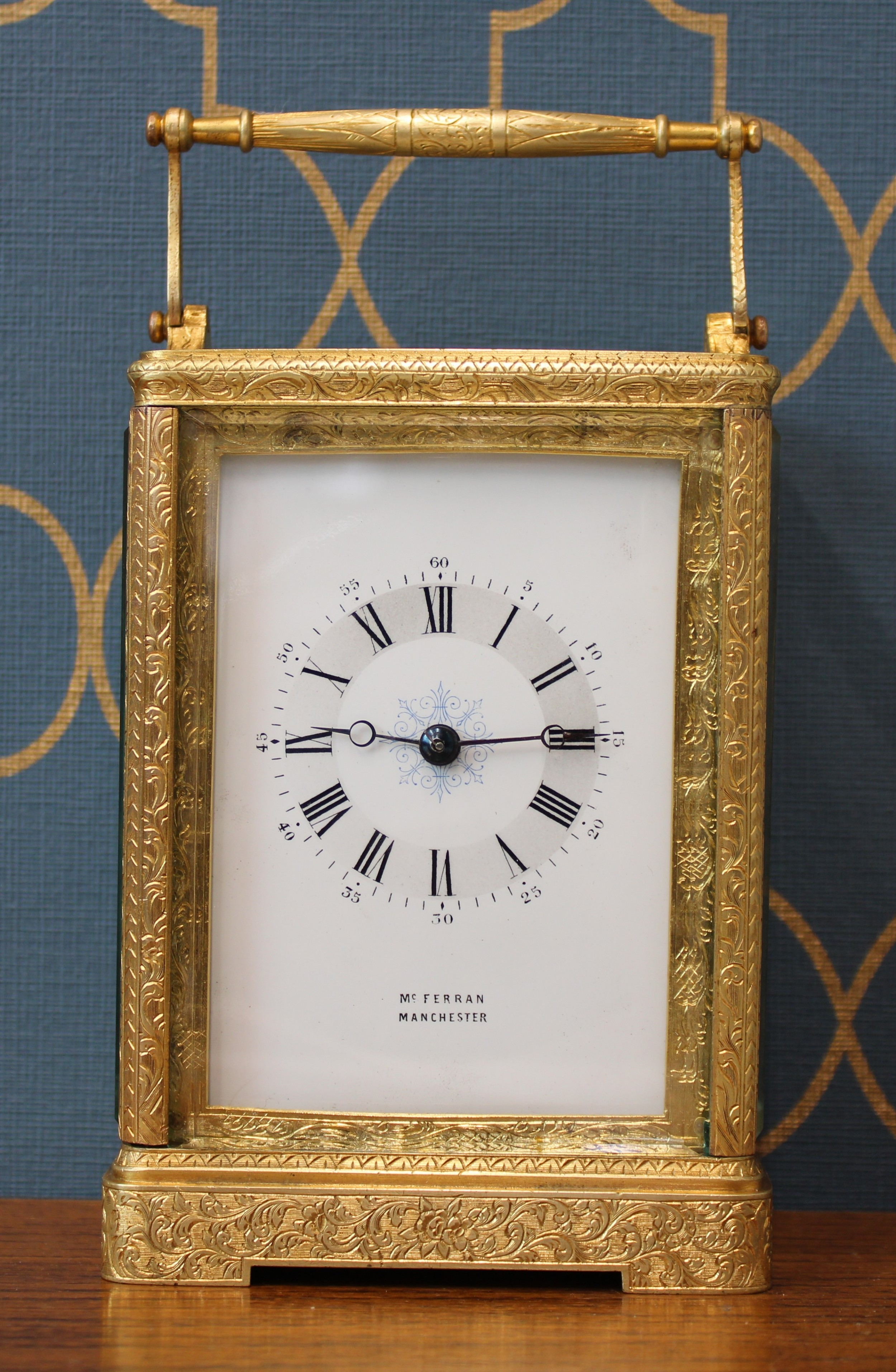 french carriage clock timepiece
