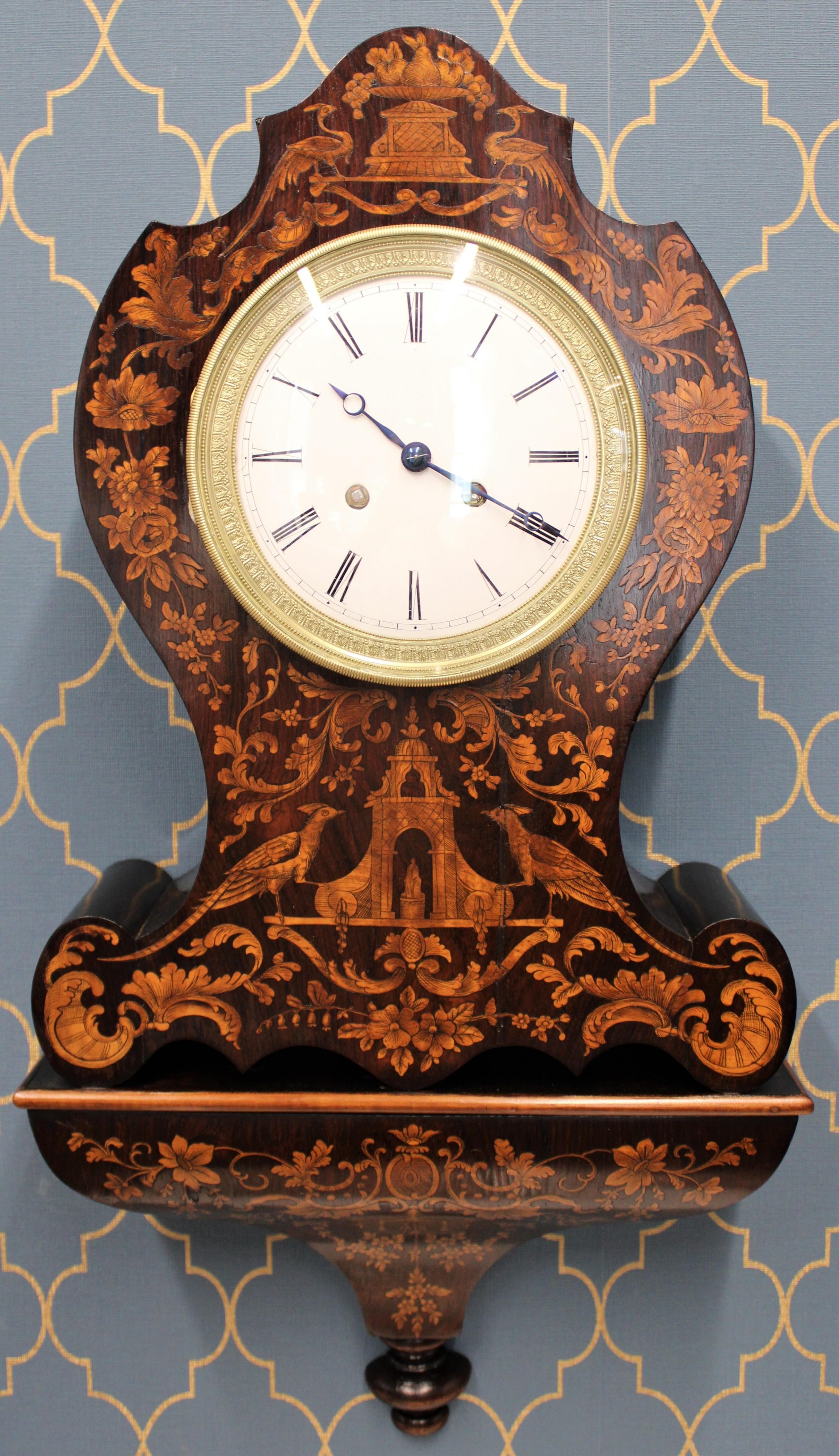 french bracket clock