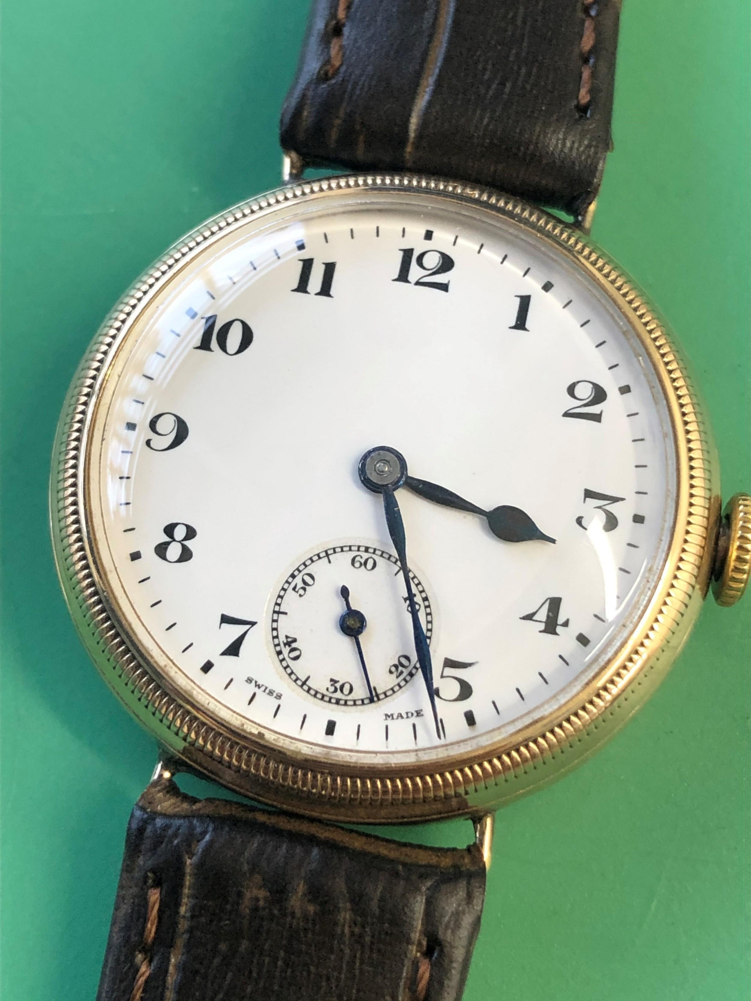 zenith vintage gents wristwatch