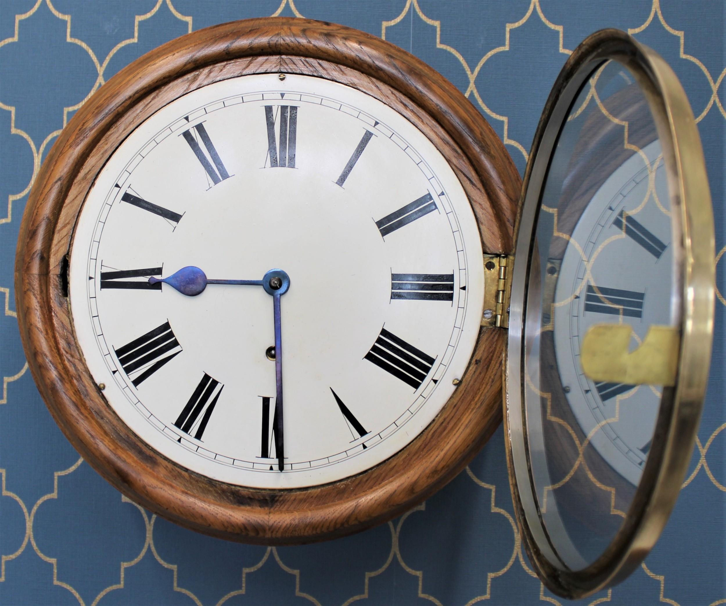 8 day school wall clock
