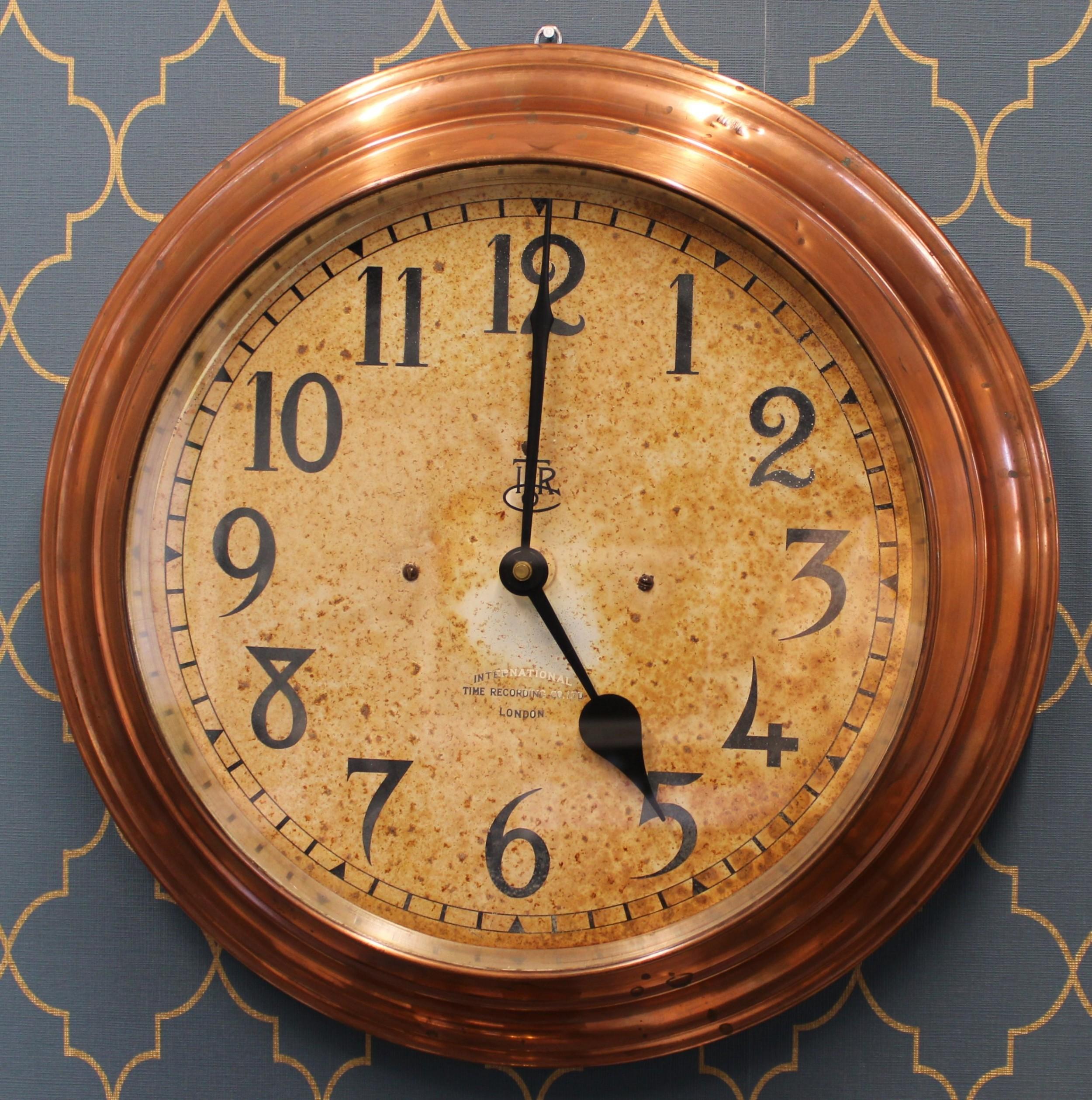 itr international slave clock