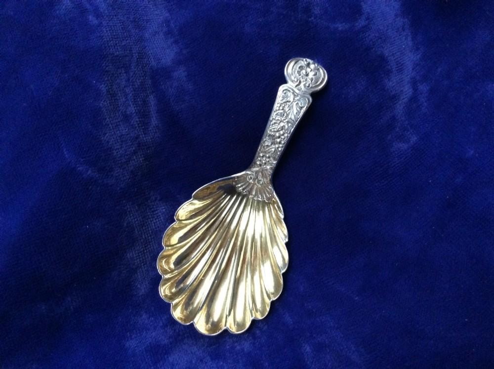 silver george 1v caddy spoon