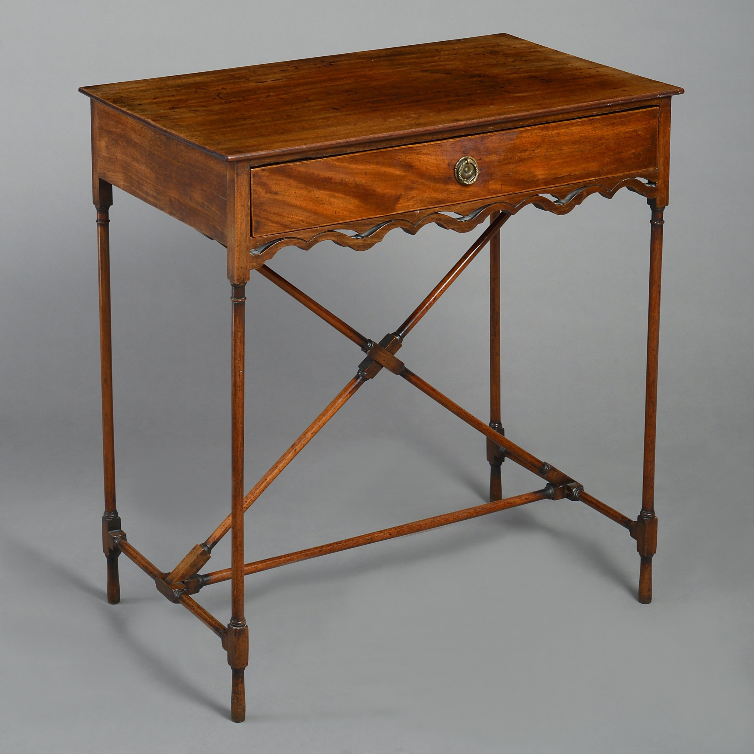 a mid18th century mahogany george iii side table