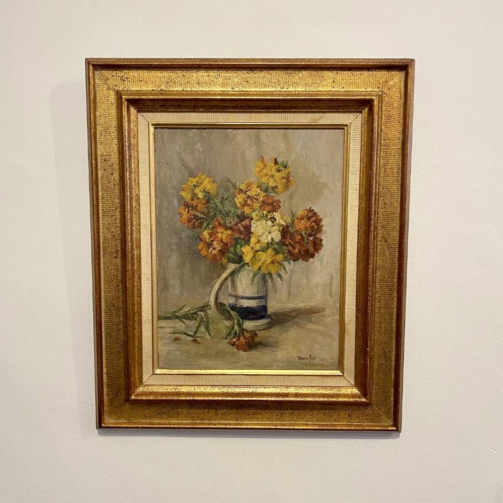 still life flowers in a jug by madeleine felix