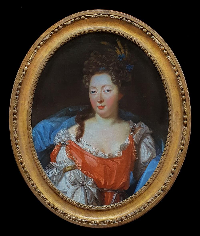 portrait of a lady c1690 17th century french school