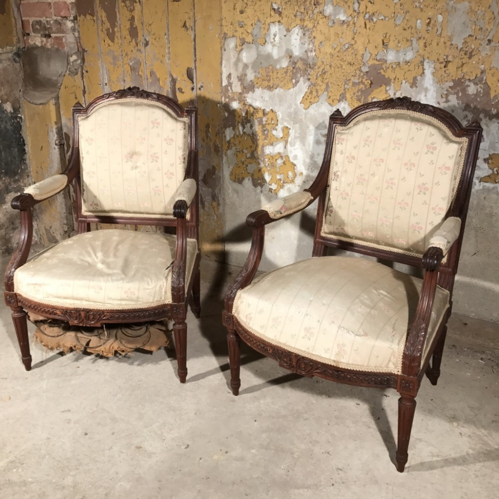 Antique upholstered chair styles - Tom Scott Antiques