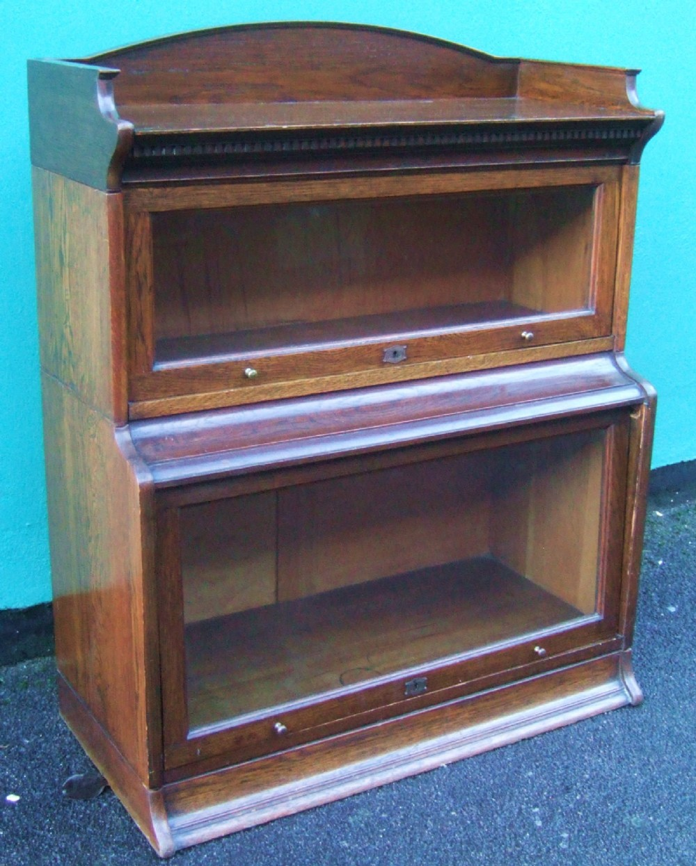 The Lebus Bookcase Oak Library Barristeru0027s Cabinet