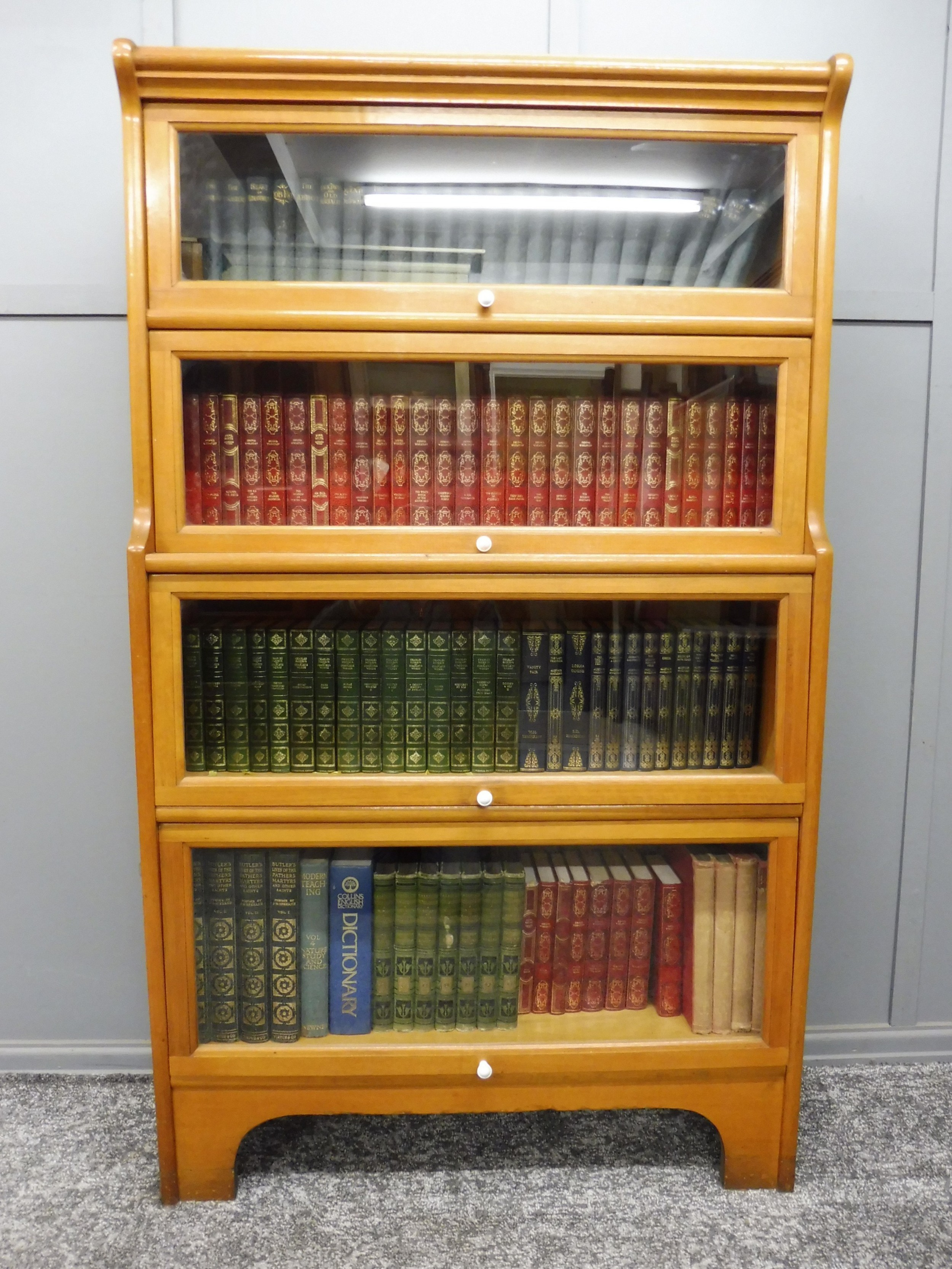 4 height lawyers sectional bookcase