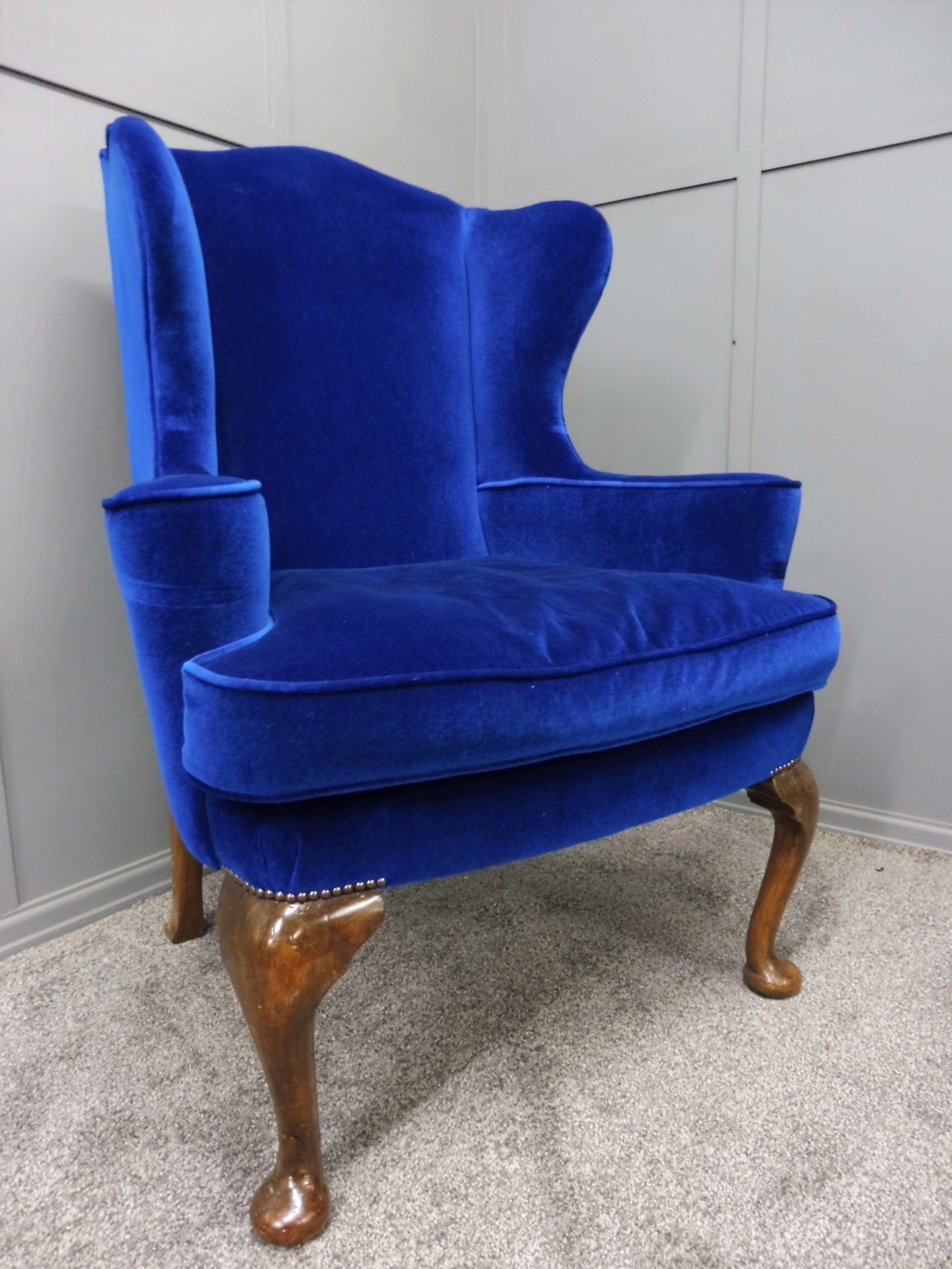 19th century georgian style armchair