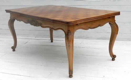 French Louis Xv Rev Extending Dining Table Oak | 183114 ...