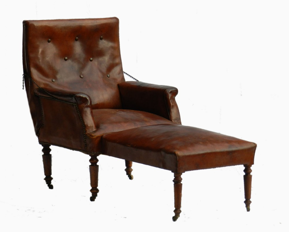 leather club chair reclining armchair folding chaise longue recliner