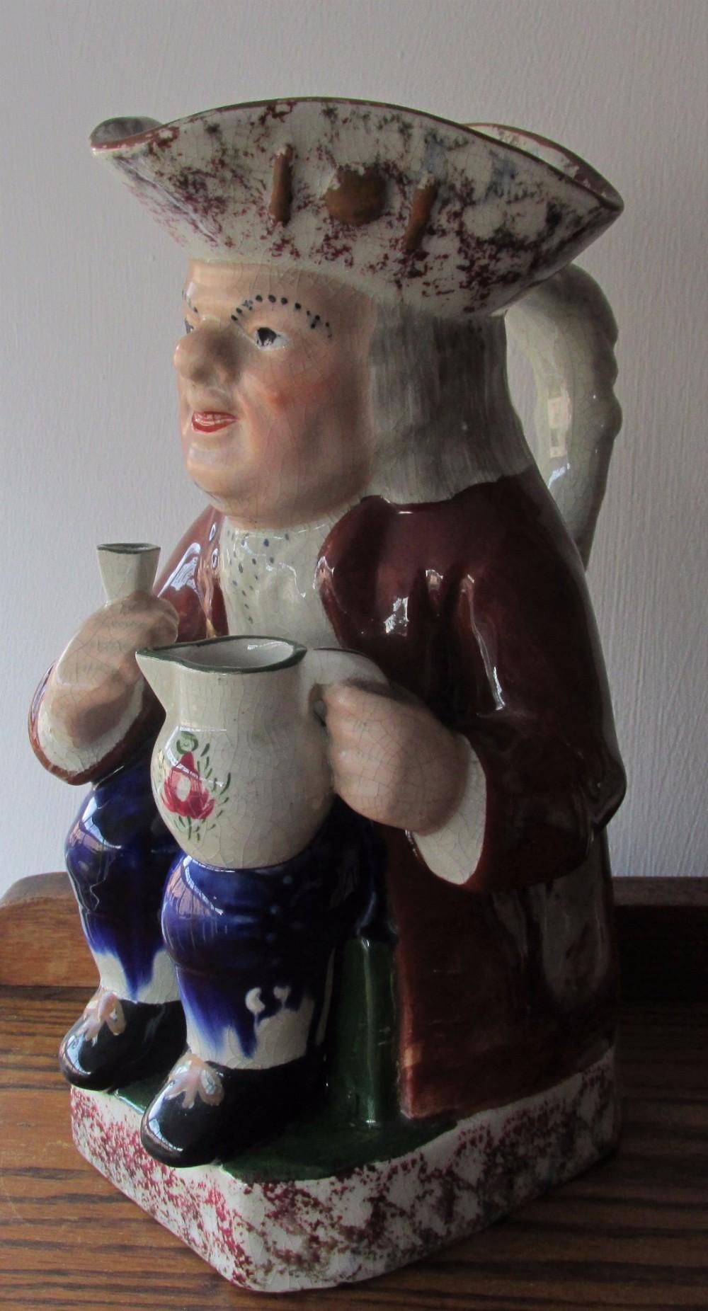 good victorian toby jug