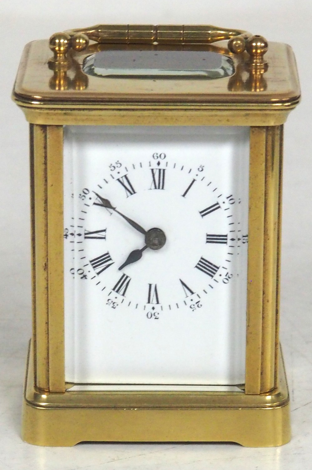 superb miniature french 8 day carriage clock lever platform circa 1880 working