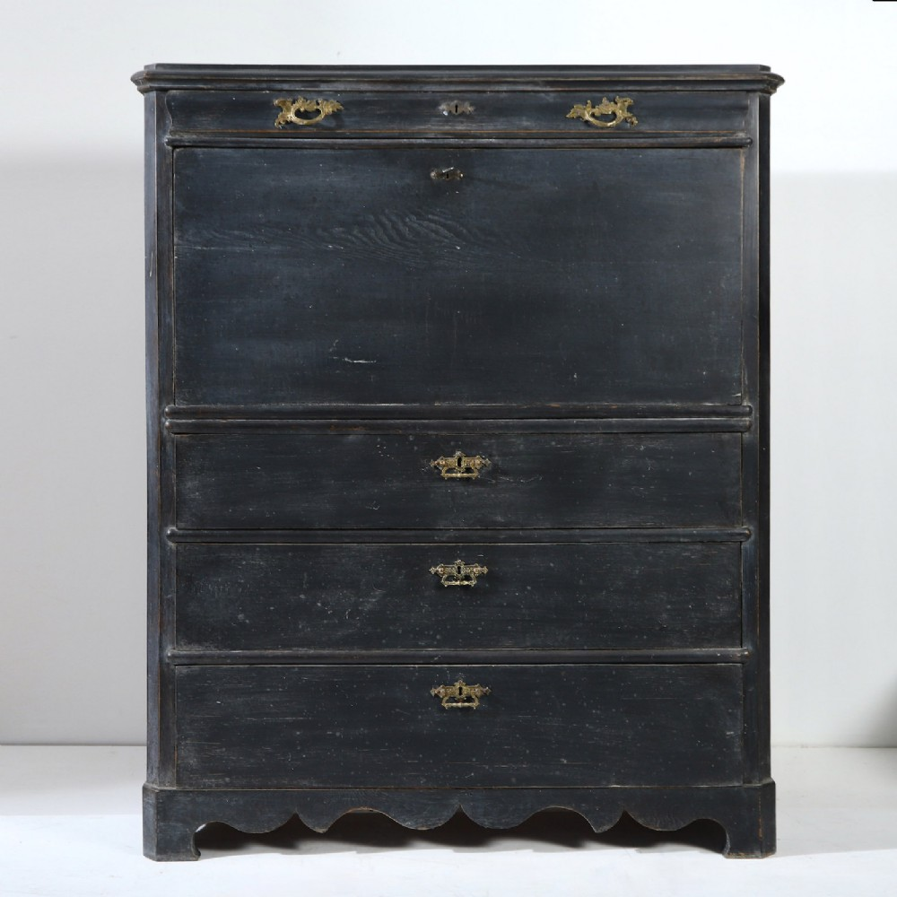19th century swedish secretaire