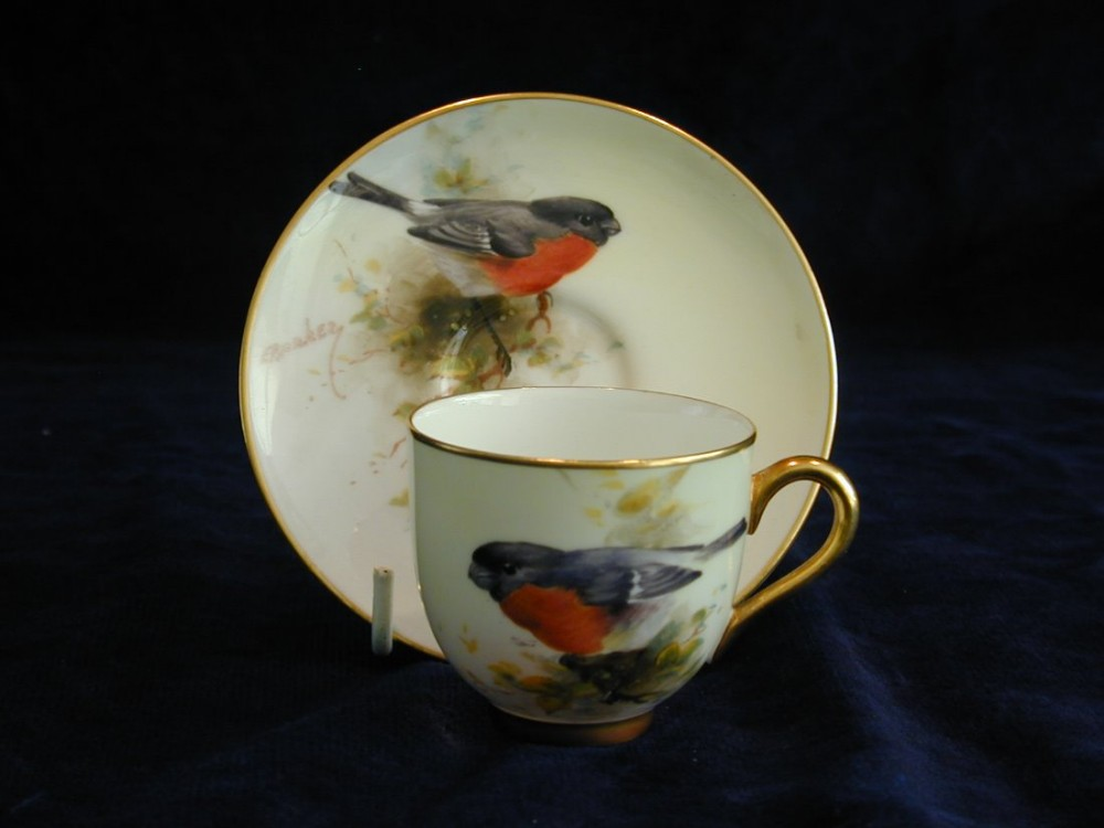royal worcester demi tasse cup and saucer