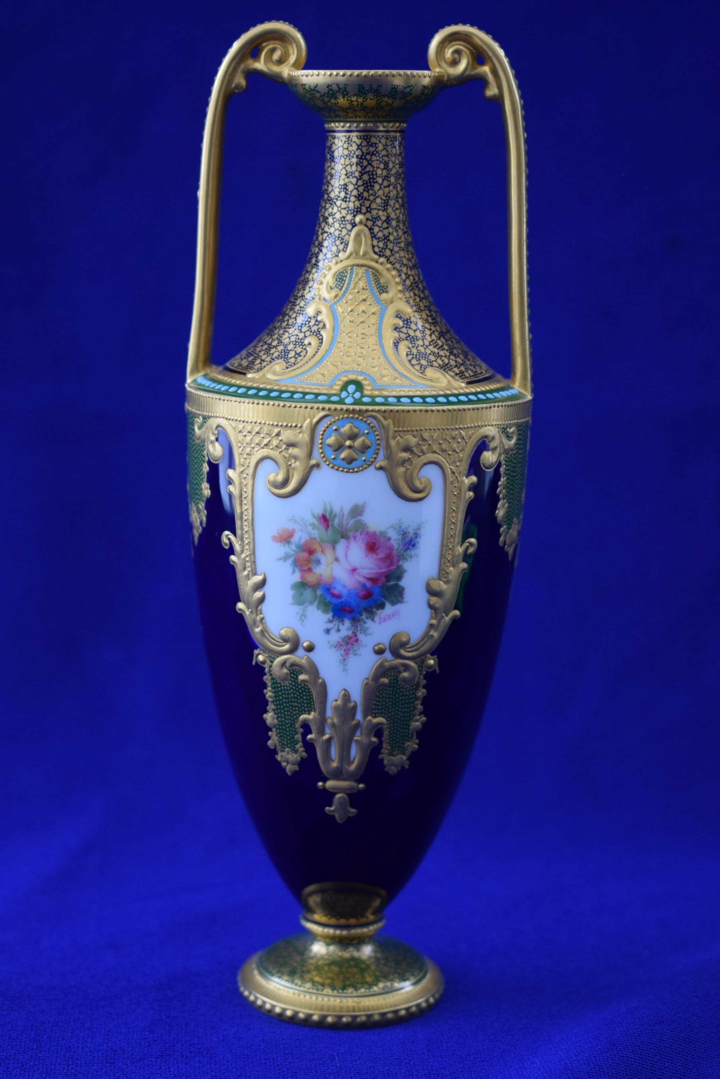 Royal crown derby vase signed leroy 530008 sellingantiques royal crown derby vase signed leroy reviewsmspy