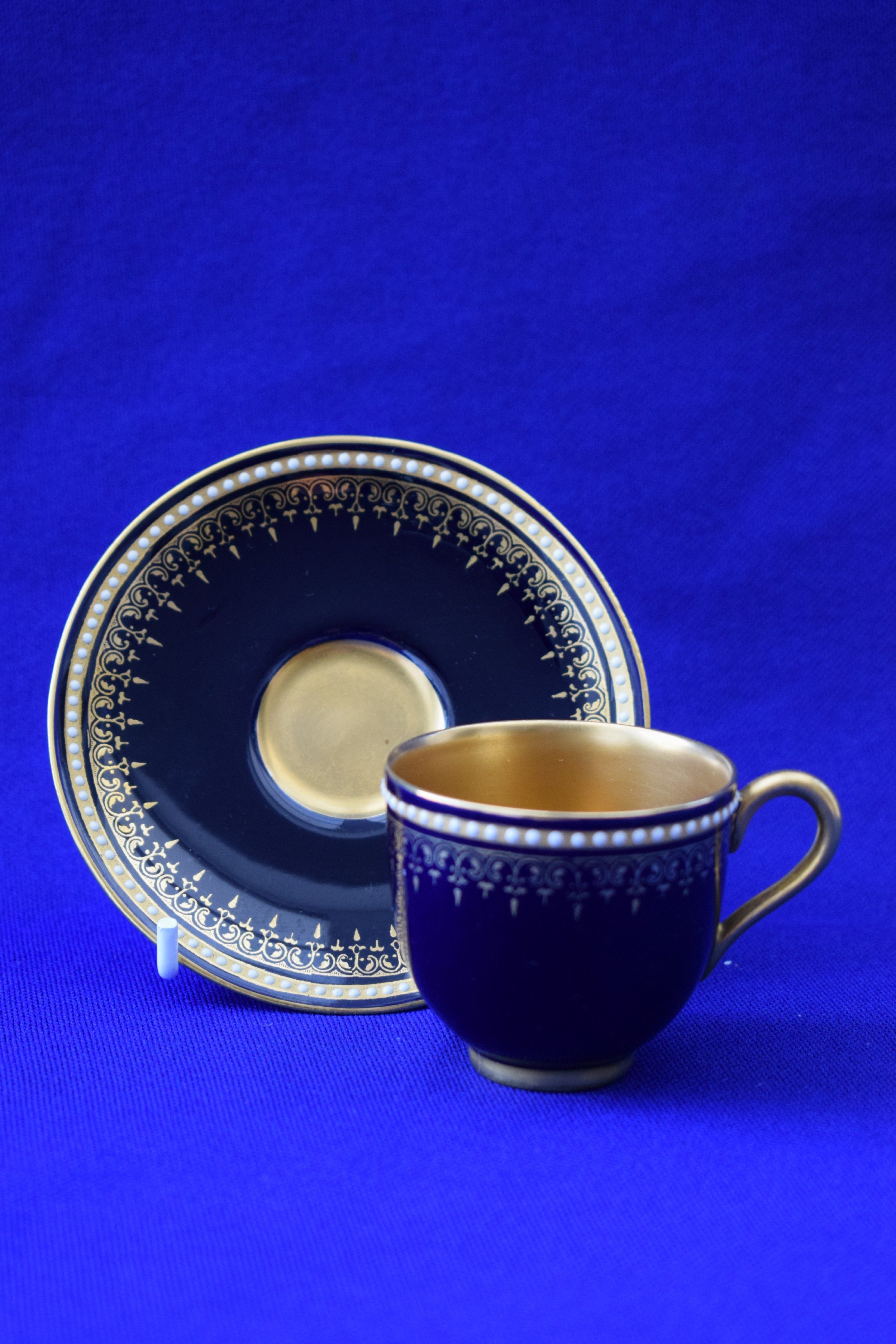 royal worcester demi tasse coffee cup and saucer