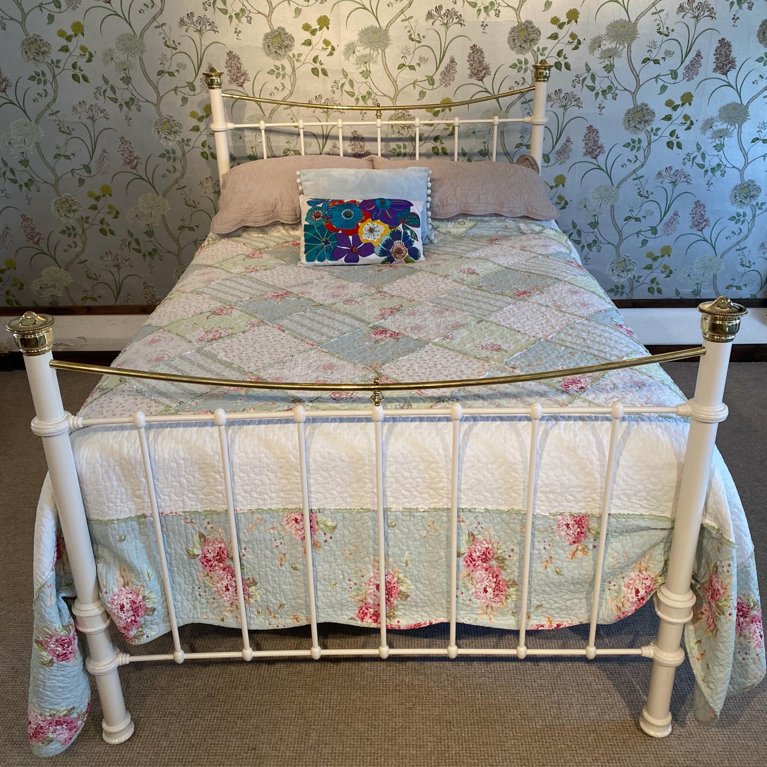 antique double edwardian bed
