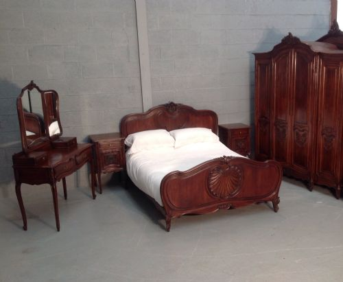 Thumbnail picture of: SUBERB WALNUT FRENCH BEDROOM SUITE