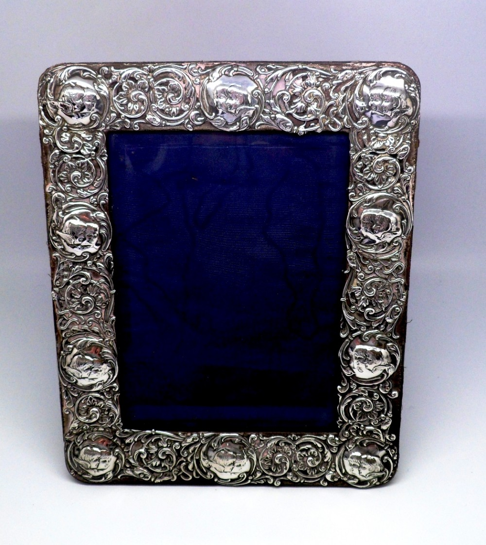 Silver Photo Frames Solid Silver Frames Silver Solid silver photo frame