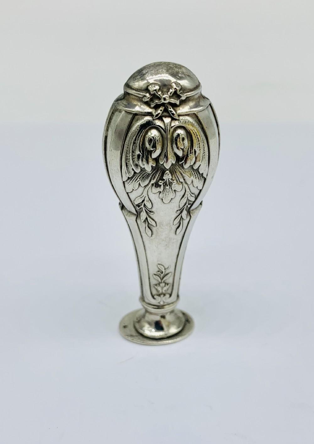quality art nouveau french silver silver c1890
