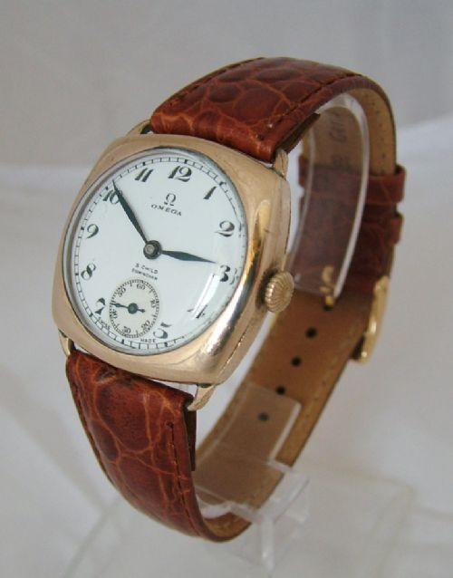 Vintage omega wrist watches