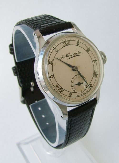 Gents 1940s Smiths / Thomas Russell Wrist Watch