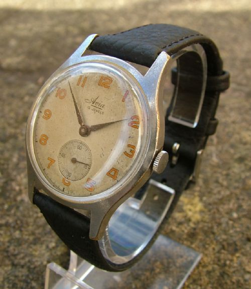 Vintage 1940s Gents Avia Hand Winding Wrist Watch | 321161 ...