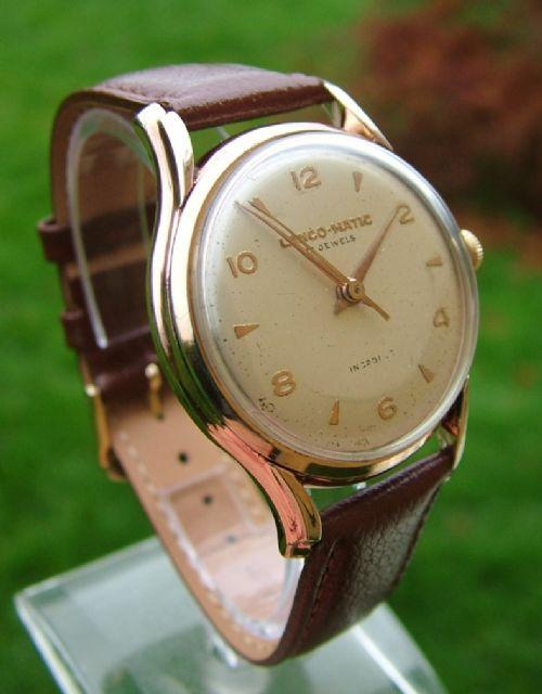 c2a50ebecc0 A Good-sized Gents 1950s Lanco-matic Watch