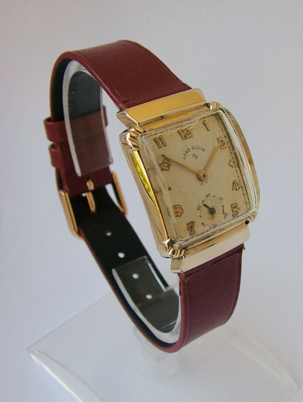 Vintage Gents1949 Lord Elgin 14k Gold Filled Wrist Watch | 319564 |  Sellingantiques.co.uk