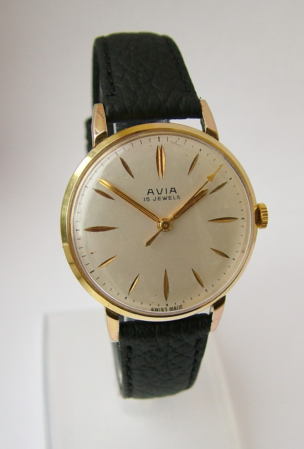 Vintage Gents 1950s Avia Hand Winding Wrist Watch | 323045 ...